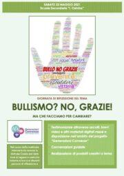 Giornata dedicata alla riflessione sul tema del Bullismo e del Cyberbullismo